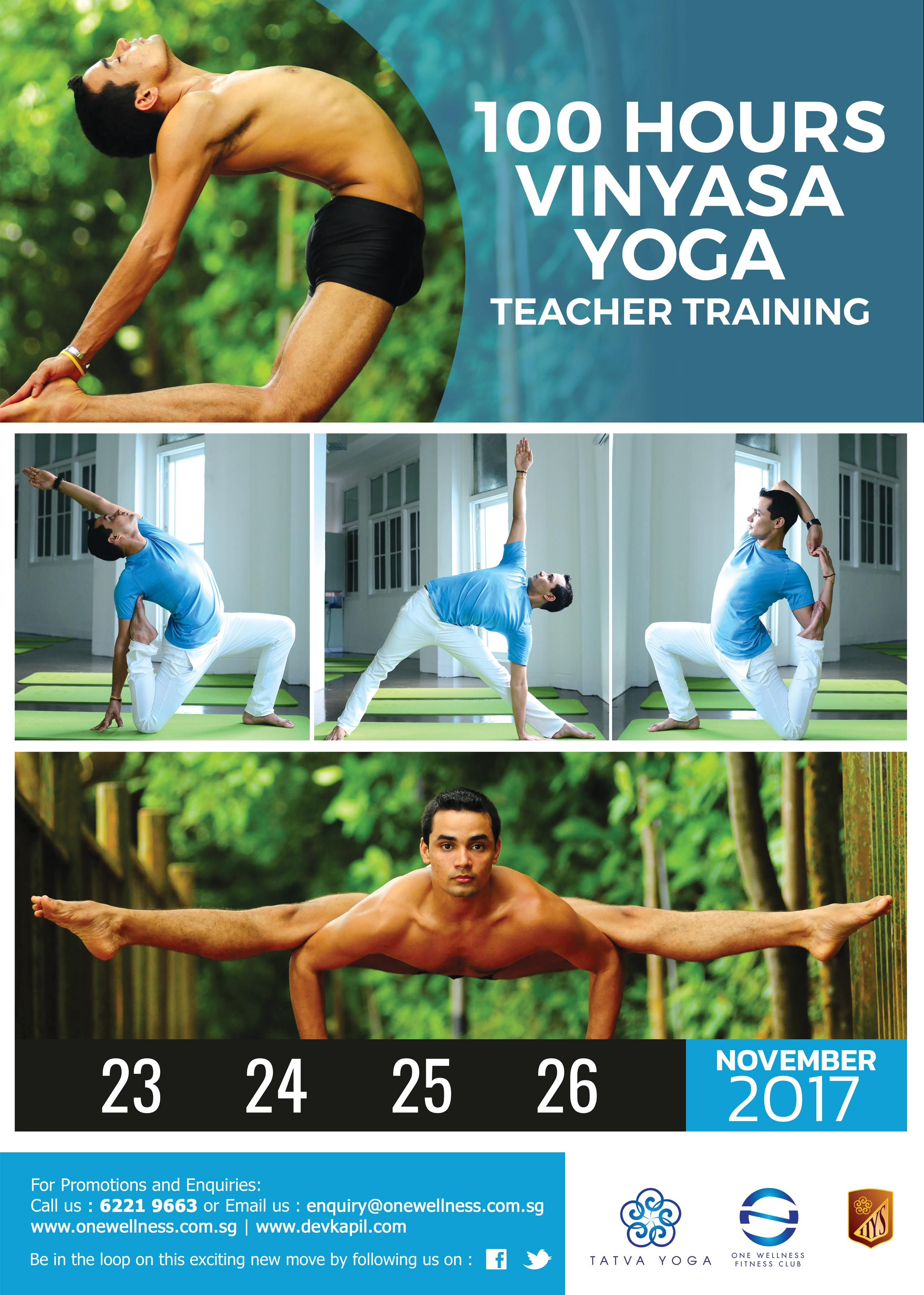 100 Hours Vinyasa Yoga Teacher Training